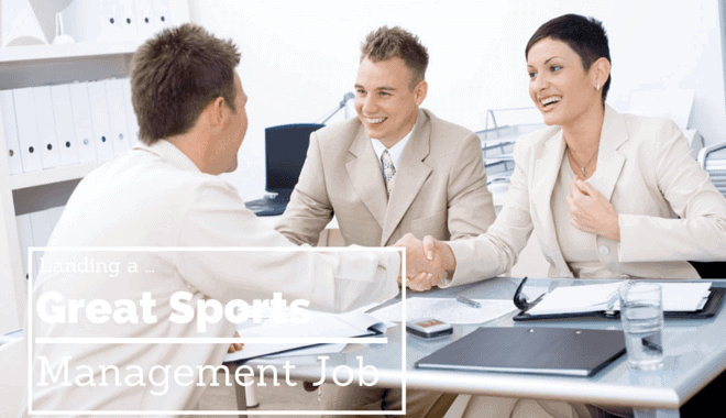 finding a sports management job