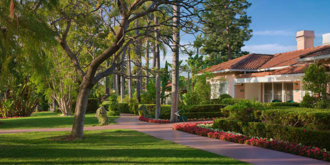 Beverly Hills Hotel and Bungalows LA California