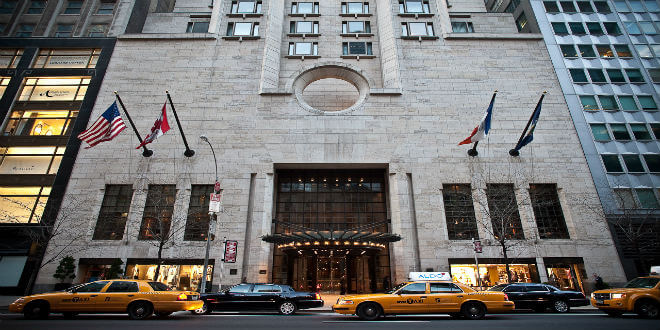 The Four Seasons Hotel NYC New York