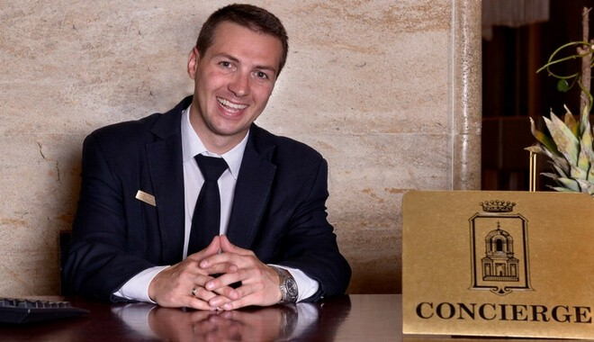 concierge hospitality entry level job