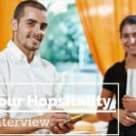 hospitality job interview tips