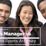 difference between sports manager vs agent vs sports attorney